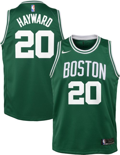 1cebc346a Nike Youth Boston Celtics Gordon Hayward  20 Kelly Green Dri-FIT Swingman  Jersey. noImageFound. Previous