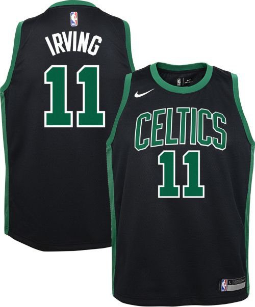 63af88fb5 Nike Youth Boston Celtics Kyrie Irving  11 Black Dri-FIT Swingman Jersey.  noImageFound. Previous