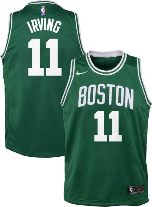 db1720afd3c Nike Youth Boston Celtics Kyrie Irving  11 Kelly Green Dri-FIT Swingman  Jersey. noImageFound. Previous