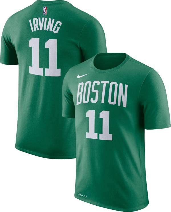 Nike Youth Boston Celtics Kyrie Irving #11 Dri-FIT Kelly Green T-Shirt product image