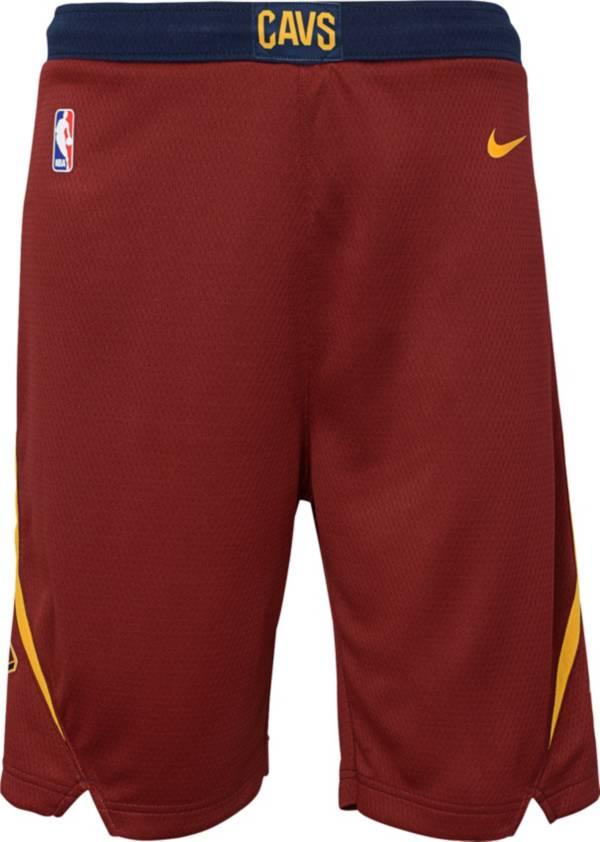 Nike Youth Cleveland Cavaliers Dri-FIT Burgundy Swingman Shorts product image
