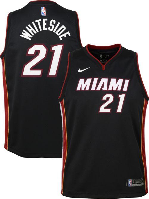 060c98db7699 Nike Youth Miami Heat Hassan Whiteside  21 Black Dri-FIT Swingman Jersey.  noImageFound. Previous