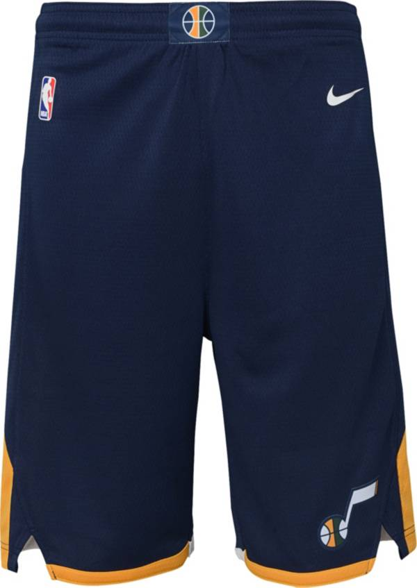 Nike Youth Utah Jazz Dri-FIT Navy Swingman Shorts product image