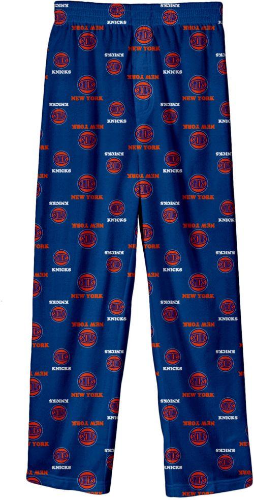 c0748261a6cc NBA Youth New York Knicks Logo Pajama Pants