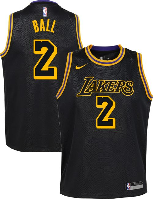 857d3559a85 Nike Youth Los Angeles Lakers Lonzo Ball Dri-FIT City Edition Swingman  Jersey. noImageFound. Previous