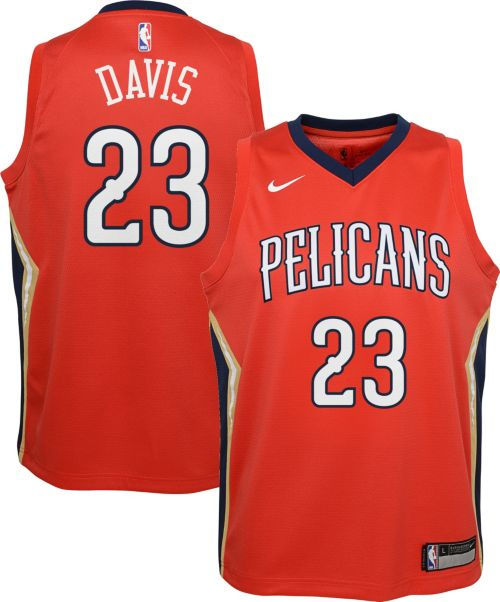 ... Pelicans Anthony Davis  23 Red Statement Dri-FIT Swingman Jersey.  noImageFound. Previous 4e0d7eb3a