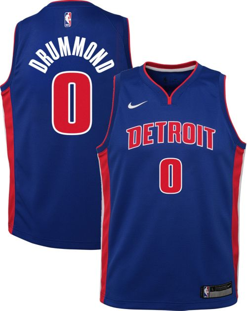 b2098f8d57f Nike Youth Detroit Pistons Andre Drummond  0 Royal Dri-FIT Swingman Jersey.  noImageFound. Previous