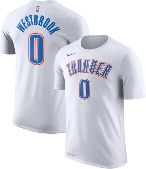 738fd5b5f Nike Youth Oklahoma City Thunder Russell Westbrook  0 Dri-FIT White T-Shirt.  noImageFound. Previous