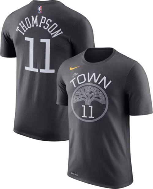 Nike Youth Golden State Warriors Klay Thompson  11 Dri-FIT Grey T-Shirt e4eb9ab07