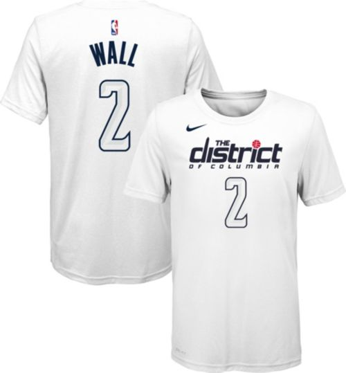 Nike Youth Washington Wizards John Wall Dri-FIT City Edition T-Shirt ... a3ebf8e9b