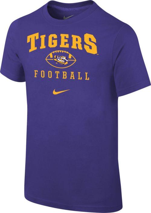 2b0a85c9 Nike Youth LSU Tigers Purple 1997 Retro Football T- Shirt. noImageFound.  Previous