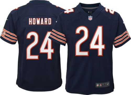Nike Youth Home Game Jersey Chicago Bears Jordan Howard  24  5261036d2536