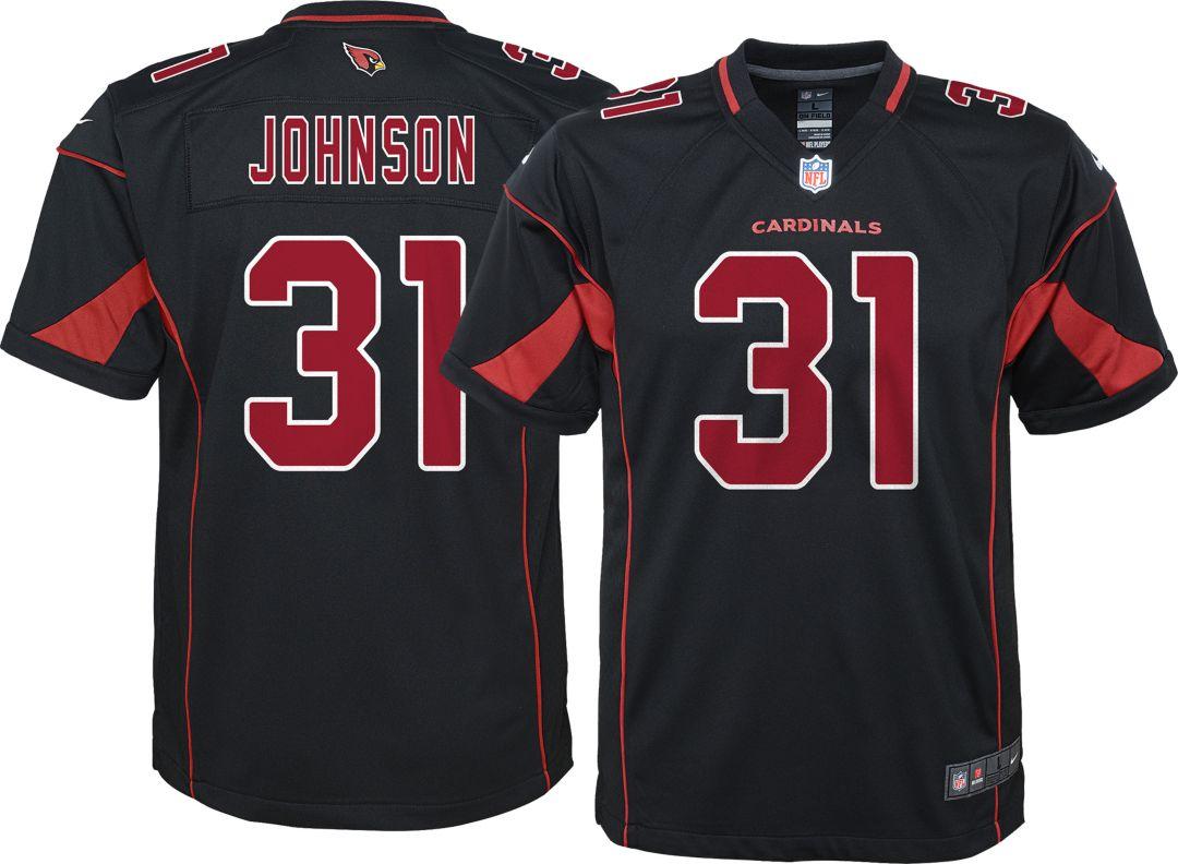 86db361e Nike Youth Color Rush Game Jersey Arizona Cardinals David Johnson #31