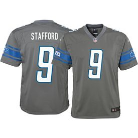 newest collection 3b1cf 5f8cb Nike Youth Color Rush Game Jersey Detroit Lions Matthew Stafford #9