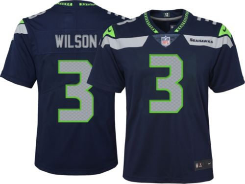 Nike Youth Home Limited Jersey Seattle Seahawks Russell Wilson  3 ... 7fc5b6359