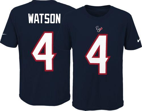 5ddfac7fb Nike Youth Houston Texans Deshaun Watson  4 Pride Navy T-Shirt.  noImageFound. Previous