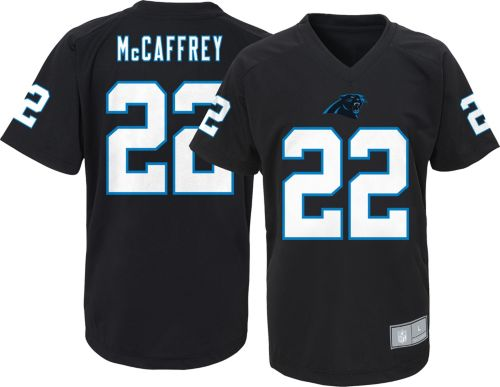 ca195591157 ... Youth Carolina Panthers Christian McCaffrey Performance Black T-Shirt.  noImageFound. Previous