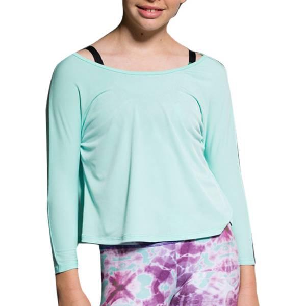 Onzie Girls' Scoop Back Long Sleeve Shirt product image