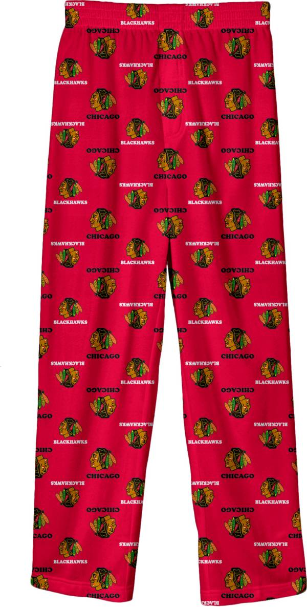 NHL Youth Chicago Blackhawks Team Logo Red Sleep Pants product image