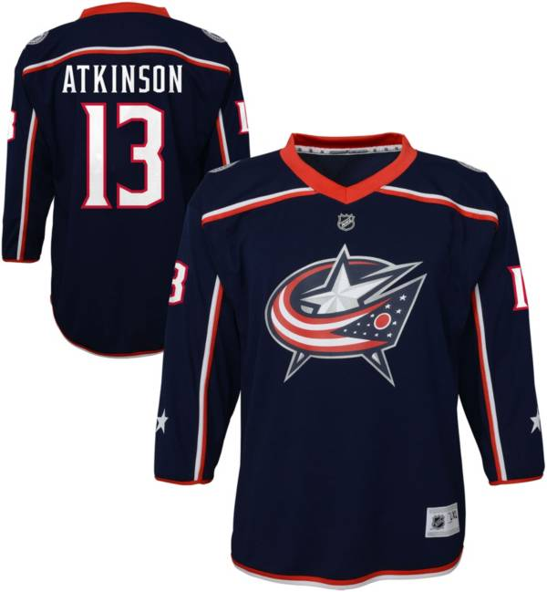 NHL Youth Columbus Blue Jackets Cam Atkinson #13 Replica Home Jersey product image