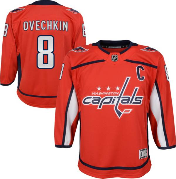 NHL Youth Washington Capitals Alexander Ovechkin #8 Premier Home Jersey product image