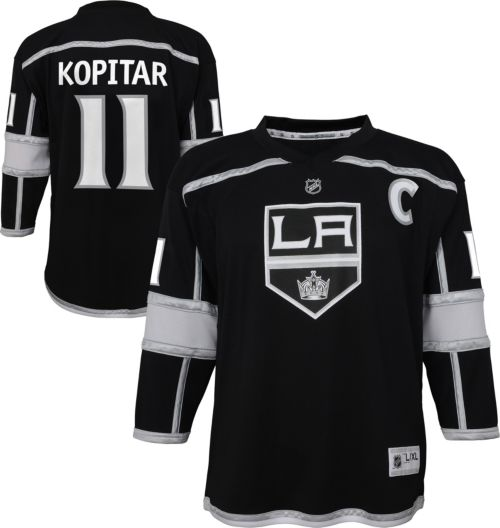 58e2a0022f0 NHL Youth Los Angeles Kings Anze Kopitar #11 Replica Home Jersey.  noImageFound. Previous