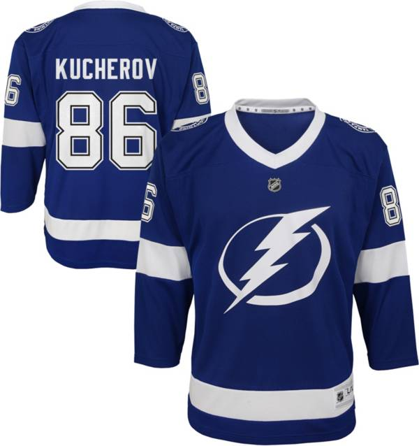 NHL Youth Tampa Bay Lightning Nikita Kucherov #86 Replica Home Jersey product image