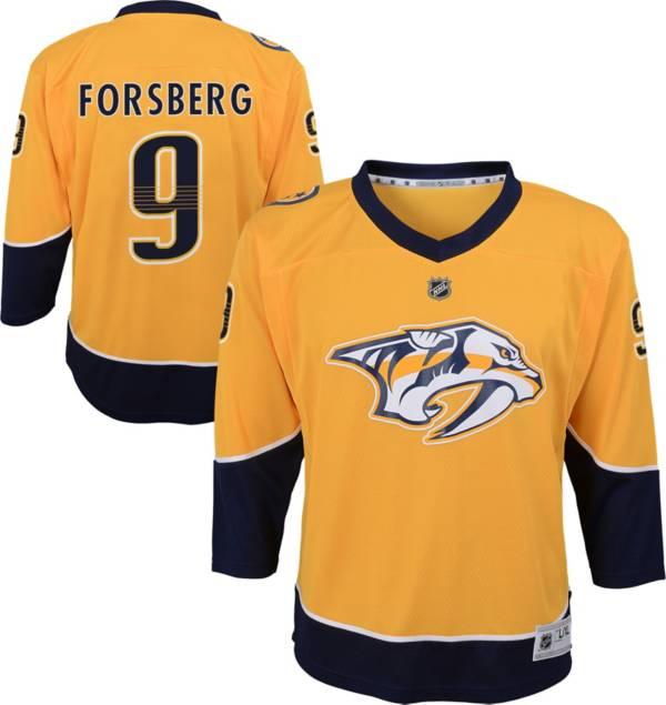 NHL Youth Nashville Predators Filip Forsberg #9 Replica Home Jersey product image