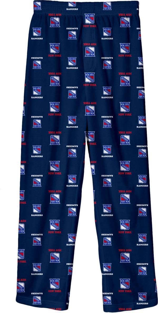 NHL Youth New York Rangers Team Logo Royal Sleep Pants product image