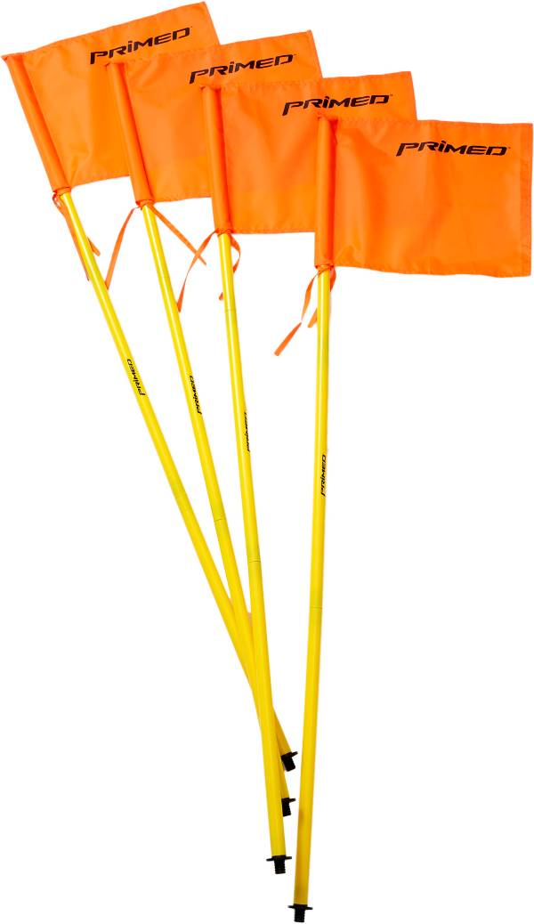 PRIMED Soccer Training Sticks and Corner Flags - 4 Pack product image