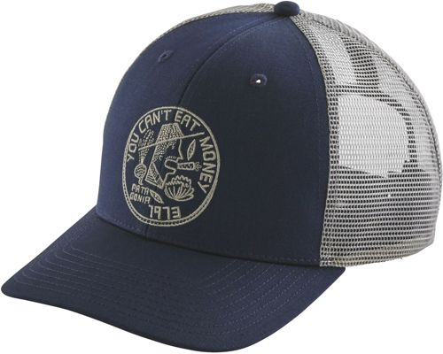 Patagonia Men s Can t Eat Money Trucker Hat  a544e2583ff