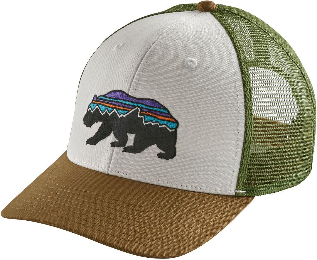 2ca65236e Patagonia Men's Fitz Roy Bear Trucker Hat