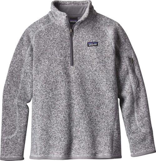 c2f12e08ba2 Patagonia Girls  Better Sweater Fleece Quarter Zip. noImageFound. 1