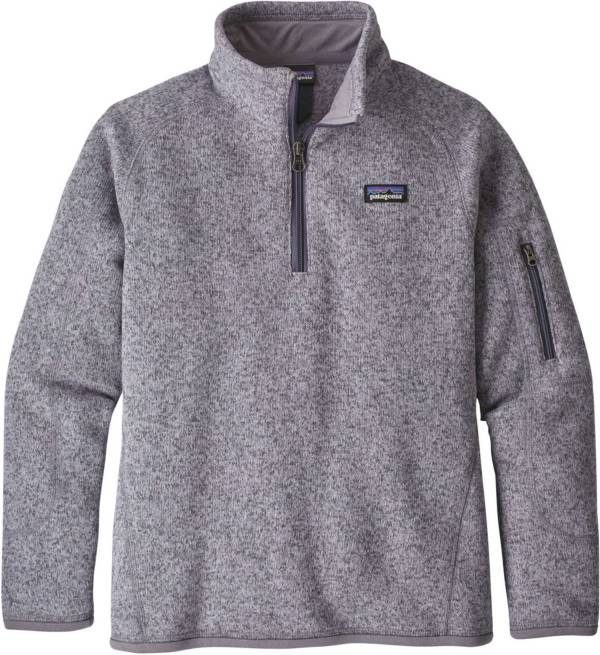 Patagonia Girls' Better Sweater Fleece Quarter Zip product image