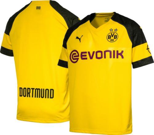 d01aa9081524 PUMA Men s Borussia Dortmund 2018 Replica Home Stadium Jersey ...