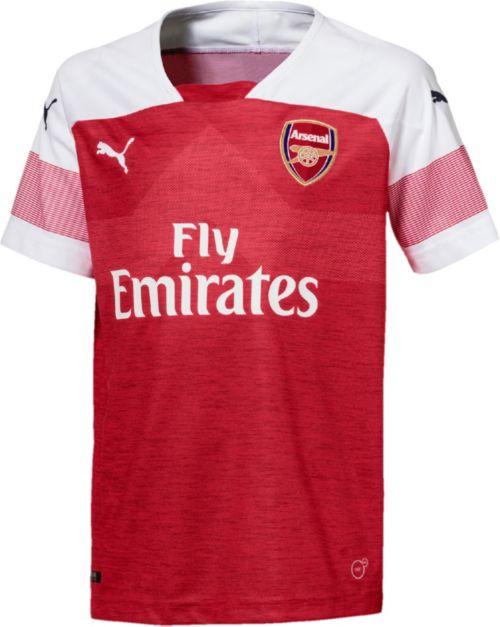 a0f841bea2a PUMA Youth Arsenal 2018 Replica Home Stadium Jersey. noImageFound. 1