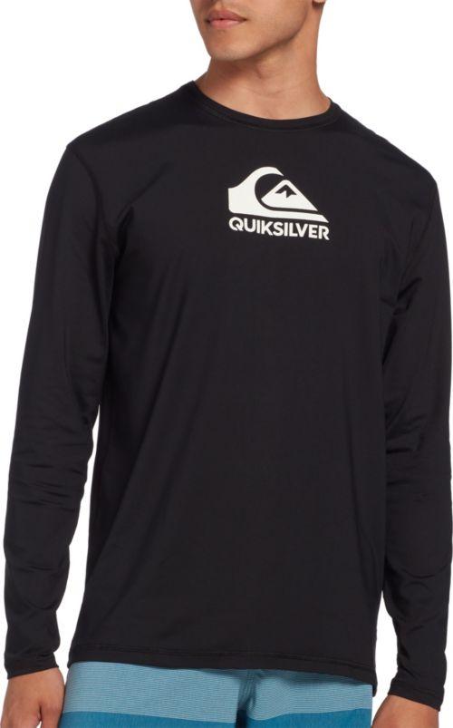 dfb92ca2 Quiksilver Men's Solid Streak Long Sleeve Rash Guard | DICK'S ...