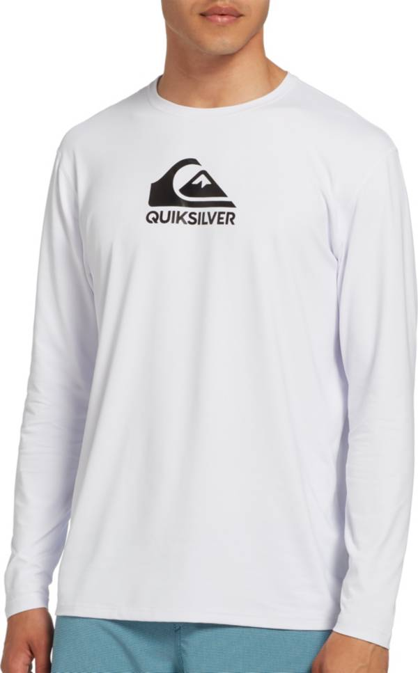 Quiksilver Men's Solid Streak Long Sleeve Rash Guard product image