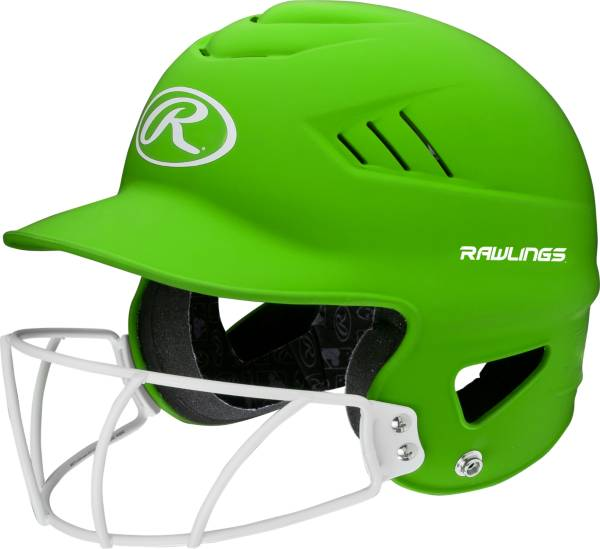 Rawlings OSFM COOLFLO Batting Helmet w/ Fastpitch Mask product image