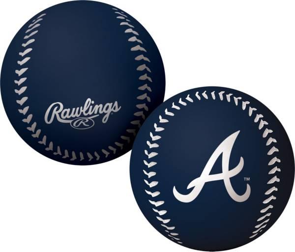 Rawlings Atlanta Braves Big Fly Bouncy Baseball product image