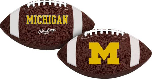 Rawlings Michigan Wolverines Air It Out Youth Football product image