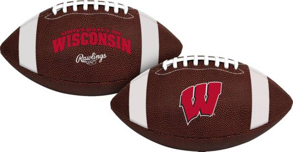 Rawlings Wisconsin Badgers Air It Out Youth Football product image