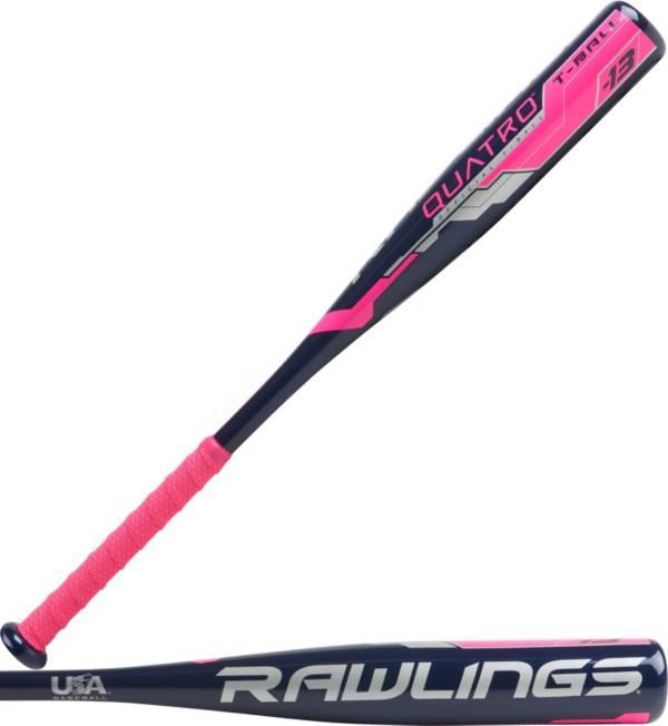 Rawlings Girls' Quatro T-Ball Bat 2018 (-13) product image