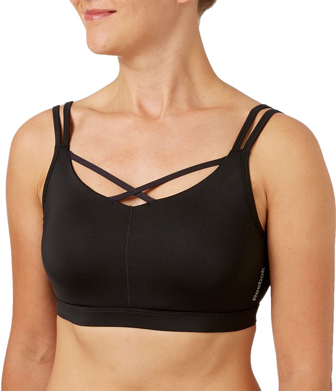 Sporting Goods Sizes S,M,L,XL Sports Bras New Women's Reebok Performance Sports Seamless Bra Top