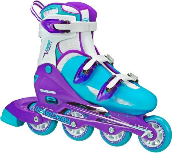 Roller Derby Girls' V-Tech 500 Adjustable Inline Skates product image