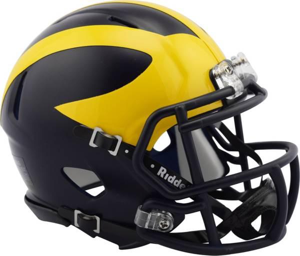 Riddell Michigan Wolverines Speed Mini Helmet product image