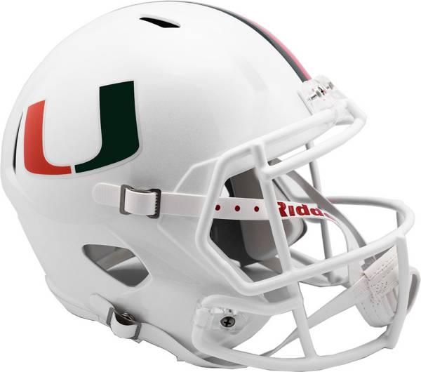 Riddell Miami Hurricanes Speed Replica Helmet product image