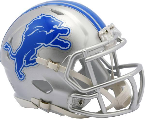 Riddell Detroit Lions Speed Mini Helmet product image