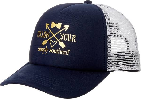 Simply Southern Women's Distressed Love Trucker Hat product image