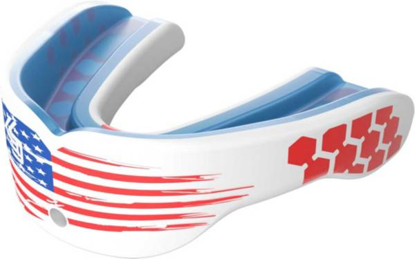 Shock Doctor Adult Gel Max Power American Flag Classic Fit Mouthguard product image